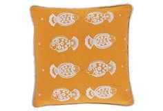 Pisces Pillow, Saffron