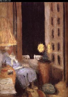 Edouard Vuillard / The night opens the window