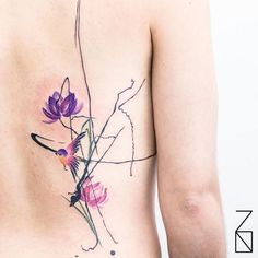 Photoshop Style Tattoos By Kizun (Vale+Pablo DM) From Buenos Aires, Argentina