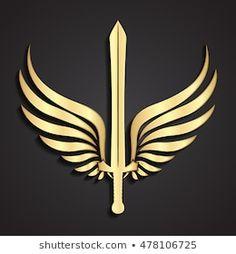 Blurred Background, Logo Concept, Maths, Angeles, Wings, Logo Design, Military, Symbols, Bird