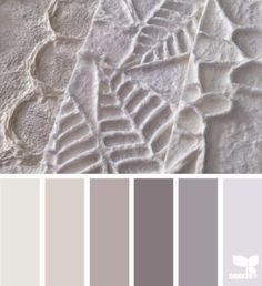 paper tones, by design seeds Colour Pallette, Colour Schemes, Color Combos, Grey Palette, Room Colors, House Colors, Colours, Design Seeds, Colorful Decor