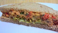 Receitolândia Light: Sanduíche Natural com Recheio de Frango e Creme de Ricota