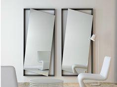 Specchio a parete HANG UP by Bonaldo   design Andrea Lucatello