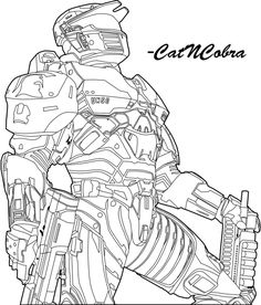 halo coloring pages | Halo Coloring Book Picture of Jorge | Ideas ...