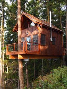 Hilltop Treehouse Retreat (Lopez Island - $249/night)