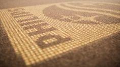 Just because we love this image. #sharing #branding #logo #interiordesign #LED #carpet