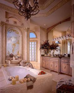 Perla's Own Home - Mediterráneo - Cuarto de baño - miami - de Perla Lichi Design