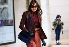 Streetlooks à la Fashion Week de New York: © Jonathan Paciullo / Frenchy Style