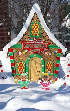 life size gingerbread house - Google Search