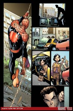 have a feeling it won't go well for them. But most likely Spidey ...