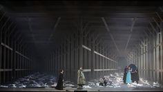 Faust at eatro alla Scala, Milano. Production by Eimuntas Nekrŏsius. Sets by Marius Nekrŏsius.