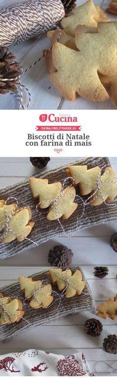 Biscotti di Natale con farina di mais della nostra utente Francesca. Unisciti alla nostra Community ed invia le tue ricette!