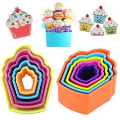 Cake Decorating and Baking Accessories Metal Cookie Cutters, Cake Shapes, Baking Accessories, Baking And Pastry, All Holidays, Plastic Molds, Doughnut, Birthday Candles, Biscuits