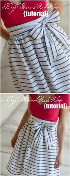 Clothing tutorials, it's like making new clothes out of ones you've already got!!!
