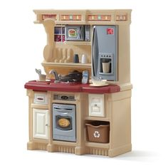 Amazon.com : Step2 Lifestyle Custom Kitchen, Black and Red : Toy Kitchen Sets : Toys & Games