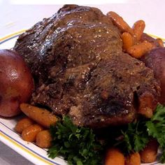 Crock Pot Roast Recipe from Grandmother's Kitchen