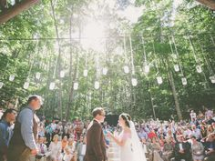 Shot from the Officiant's side (interesting shot seeing all the guests) Cool shot but not necessary
