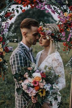 Hip & Contemporary Wedding Look | Intimate Weddings | Tampa Weddings | Epicurean Hotel