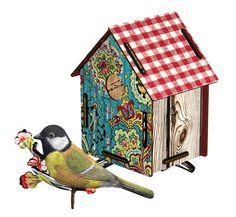 MIHO Vogelhaus Serenade aus Holz online bestellen