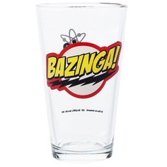 The Big Bang Theory Bazinga Glas - 24h Lieferung | getDigital