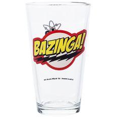 The Big Bang Theory Bazinga Glas - 24h Lieferung | getDigital