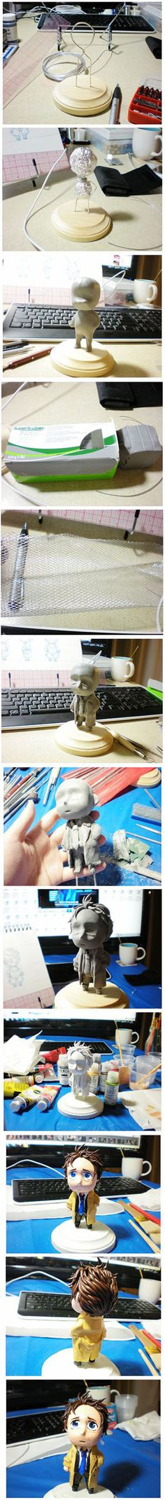 Castiel Figure Tutorial by BX211.deviantart.com on @deviantART