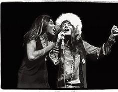 Tina y Janis  La única actuación juntas de Tina Turner y Janis Joplin.