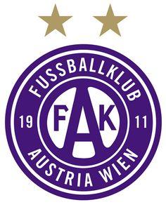 Fußballklub Austria Wien (FK Austria Wien) | Country/País: Österreich / Austria | Founded/Fundado: 1911/03/15 | Badge/Crest/Logo/Escudo.