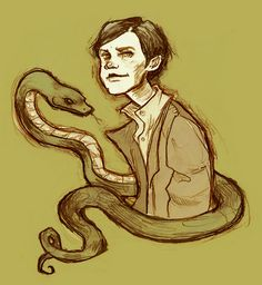 Very Cool Orphan Tom Riddle by Abigail Larson Harry Potter Art