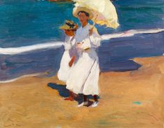 Duncan Phillips, an art collector and critic, one of the founders of The Phillips Collection , visited Sorolla in Madrid in the beginning ...