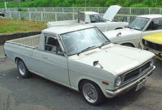 Nissan Sunny Truck - Tractor & Construction Plant Wiki - The classic vehicle and machinery wiki Nissan Pickup Truck, Nissan Trucks, Pickup Trucks, Ev Truck, Nissan Diesel, Truck Living, Nissan Sunny, Nissan Infiniti, Panel Truck