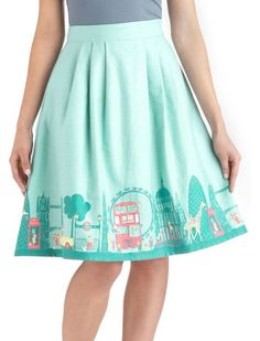Been There, London That Skirt from Modcloth