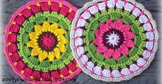 Yarndale, Attic 24, Mandalas, Crochet Mandalas, Sunflowers