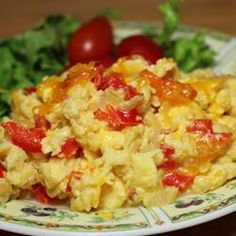 "Extreme Veggie Scrambled Eggs | ""These were about the best scrambled eggs I have ever cooked."""
