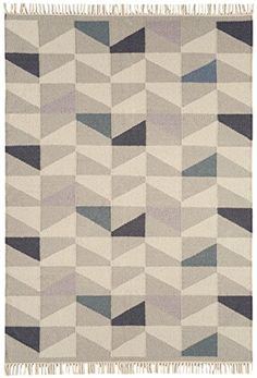 Teppich Modernes Design HACKNEY KELIM GEO RUG HEATHER 120... Https://