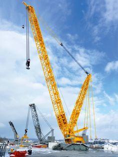 #Liebherr LR 11000 Crawler #Crane