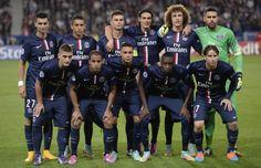 PSG avant son match contre le Barca