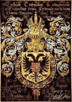 Complete List of the Holy Roman Emperors - The Holy Roman Emperor (German: Romisch-deutscher Kaiser, Latin: Romanorum Imperator) was the ruler of the Holy Roman Empire. Holy Roman Empire, Medieval World, Roman Emperor, Historical Art, Chivalry, Family Crest, Knights Templar, Kaiser, Crests