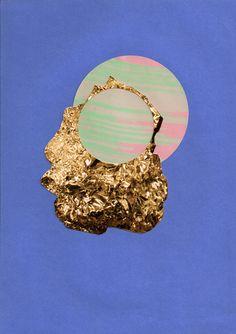 circle series - anna beam - collage