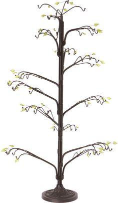 Dark Brown Ornament stand - twig tree, H x W x D Tree Jewelry Holder, Plastic Display Stands, Twig Tree, Wire Ornaments, Doll Stands, Clear Acrylic, Dark Brown, Phoenix, Decoration