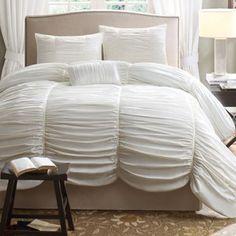 The Avila duvet cover set makes an elegant statement in any bedroom. #MarketStreetFlo