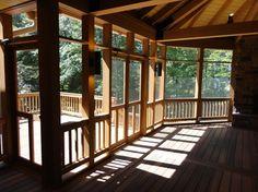 Cedar Porch - traditional - porch - other metro - (703) 593-2029 (540) 842-5803