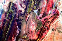 """""""#EarthArt #SouthAmerica #YearInSpace""""<a href=""""https://twitter.com/StationCDRKelly/status/668577294378663936"""" target=""""_blank"""">—via Twitter</a> on Nov. 22, 2015."""