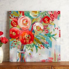 Poppy Flowers Art