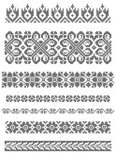Thrilling Designing Your Own Cross Stitch Embroidery Patterns Ideas. Exhilarating Designing Your Own Cross Stitch Embroidery Patterns Ideas. Floral Embroidery Patterns, Border Embroidery, Hand Embroidery Designs, Cross Stitch Embroidery, Cross Stitch Borders, Cross Stitch Designs, Cross Stitching, Cross Stitch Patterns, Fair Isle Knitting Patterns