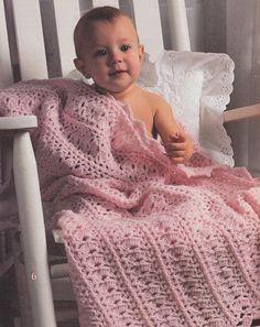 Lovely Baby Afghan Crochet Patterns Booklet 6 por PaperButtercup