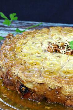 Bananas Foster Bread Pudding Recipe via callmepmc.com
