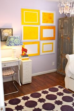 Wall color for Milenas big girl room