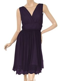 Ever Pretty Sexy Double V-neck Ruched Cocktail Dress 00279 $28.95