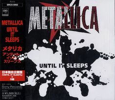 "For Sale - Metallica Until It Sleeps Japan  CD single (CD5 / 5"") - See this and 250,000 other rare & vintage vinyl records, singles, LPs & CDs at http://eil.com"